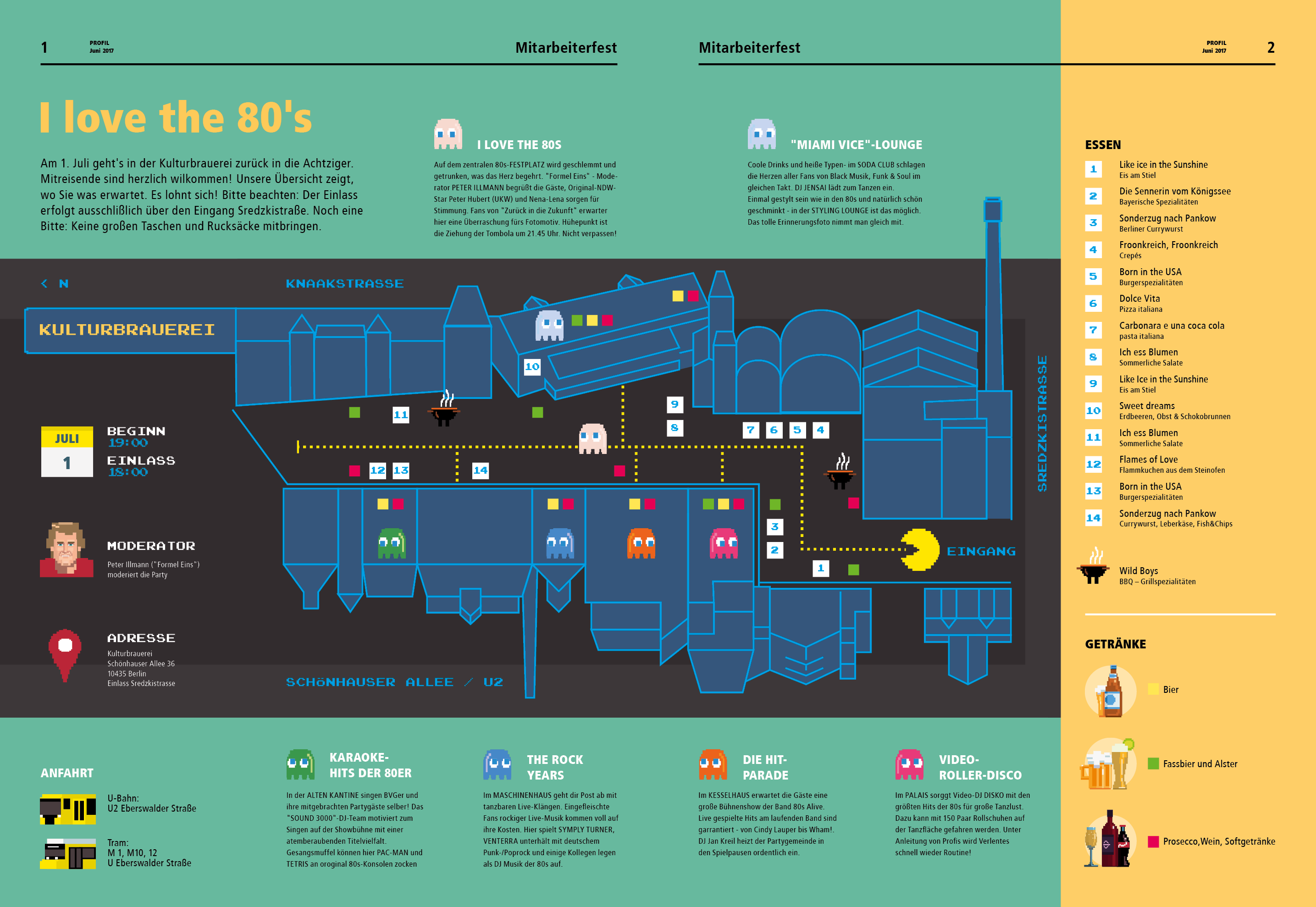 BVG Infografik - I love the 80s